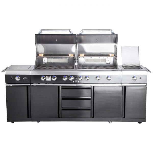 All Grill Top Line Extrem- Black mit Air System