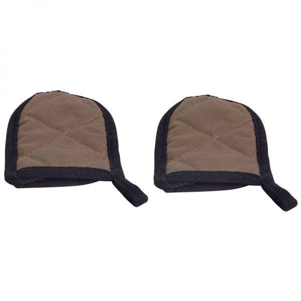 Hitzeschutz/ Griffschutz für Gussgeschirre mit Stiehl 10x5 cm Hitzebeständig bis 180°C