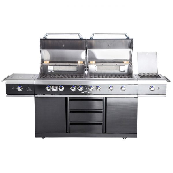 All Grill Top Line Extrem Light- Black mit Air System