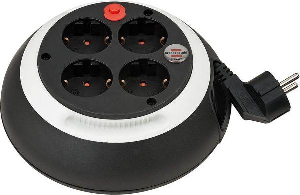 Comfort-Line Kabelbox CL-S 4-fach schwarz/weiß 3m H05VV-F 3G1,5