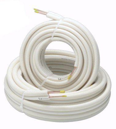 Kältemittelleitung Einzelrohre, 6/12mm, 25 Meter Ring