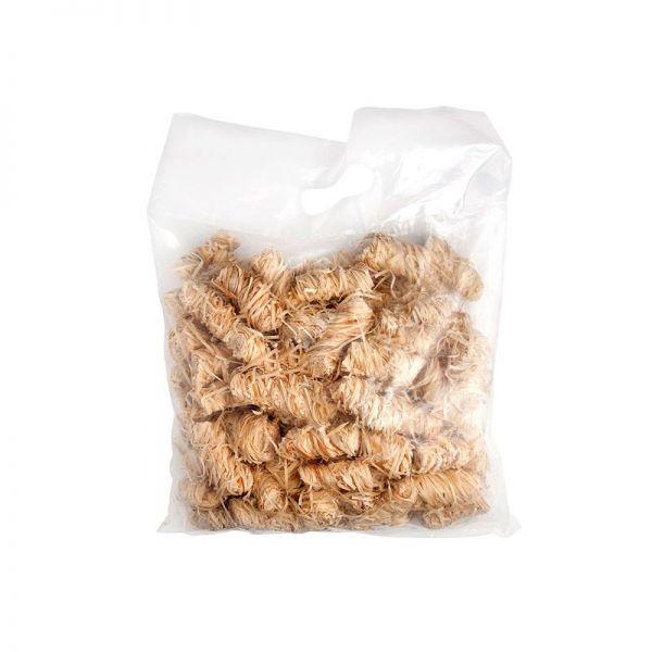 Holzwolle Bioanzünder