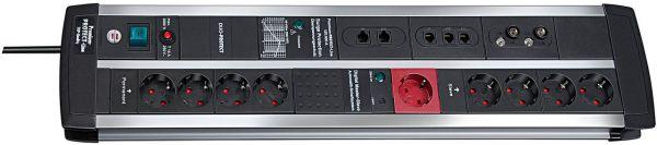 Überspannungsschutz-Automatiksteckdosenleiste