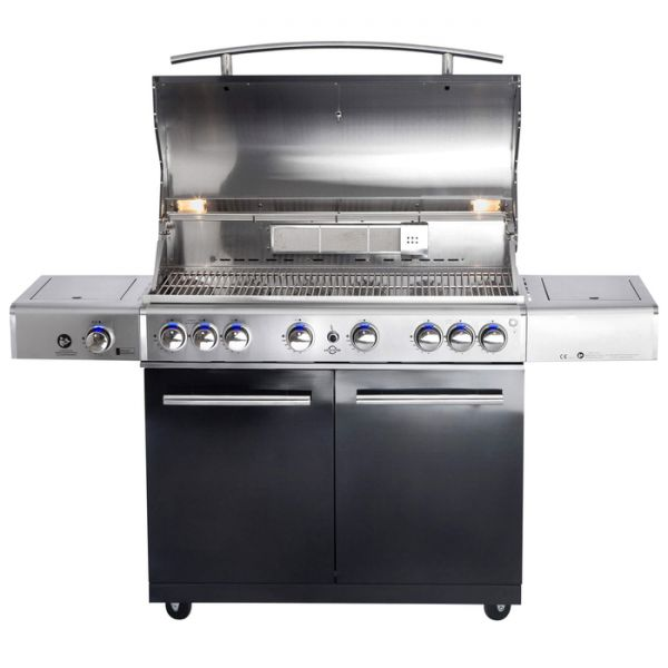 """All Grill Top Line Chef """"XL"""" Black mit Air System"""