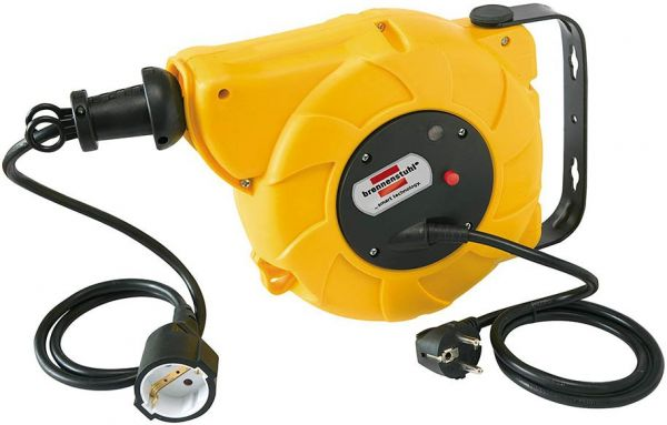 Kabeltrommel Automatik IP20 9+2m H05VV-F 3G1,5