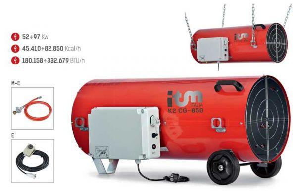 Gas Heizgebläse K2C-G850 E