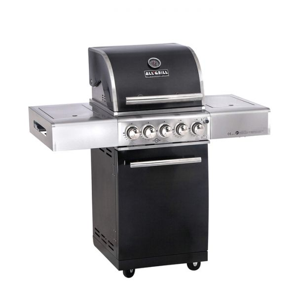 """All Grill Top Line Chef """"S"""" Black mit Air System"""