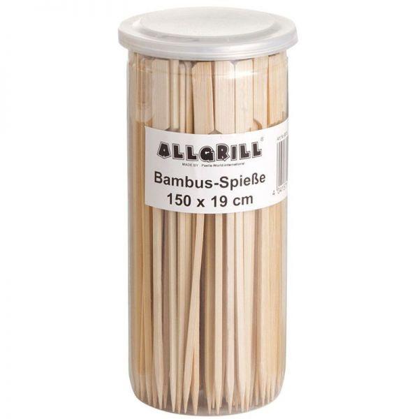 Bambus-Spieße 19 cm lang 150 Stück