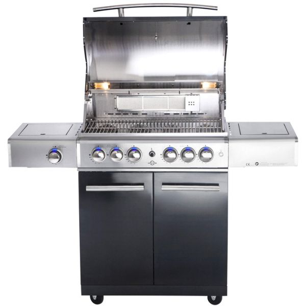 """All Grill Top Line Chef """"L"""" Black mit Air System"""
