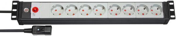 """Premium Line 19"""" Steckdosenleiste für Schaltschränke 8 fach kaltgerätestecker"""