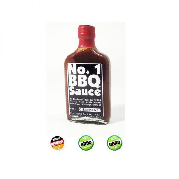 No. 1 BBQ Soße, 200ml