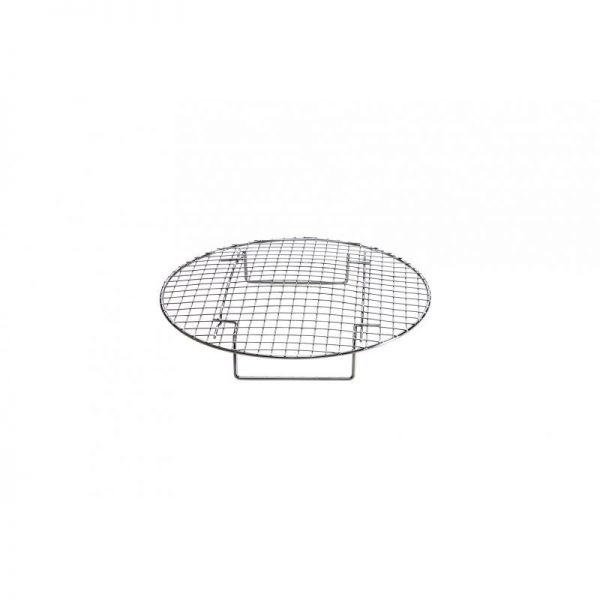 BBQ- Backgitter 28x4 cm ideal fürs Backen im Grill -verchromt-