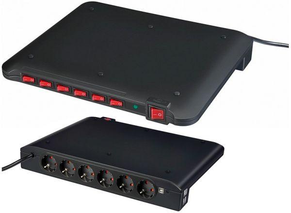 Power Manager PMA USB Überspannungsschutz 6 fach