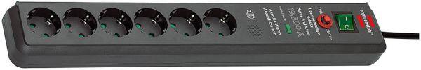 Secure-Tec Überspannungsschutz Steckdosenleiste Akustik 6 fach