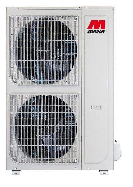 Super Multi DC Inverter zum Anschluß von bis zu 9 Innengeräten in Verbindung mit den Verteilerboxen