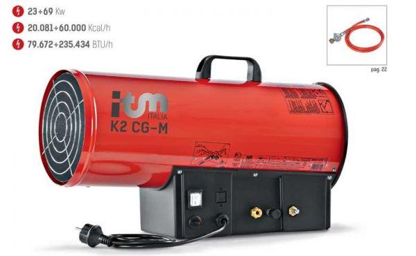Gas-Heizgebläse mit Manueller Regelung K2 CG 300M